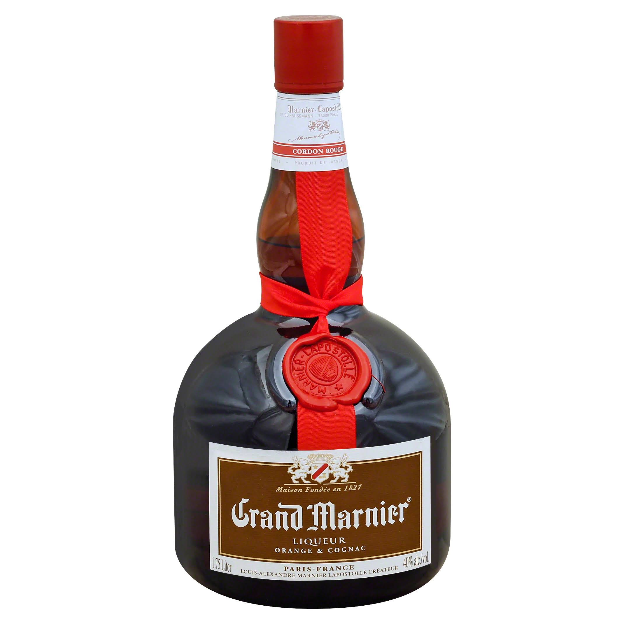 Grand Marnier Triple Orange Liqueur & Cognac Brandy - 1.75l