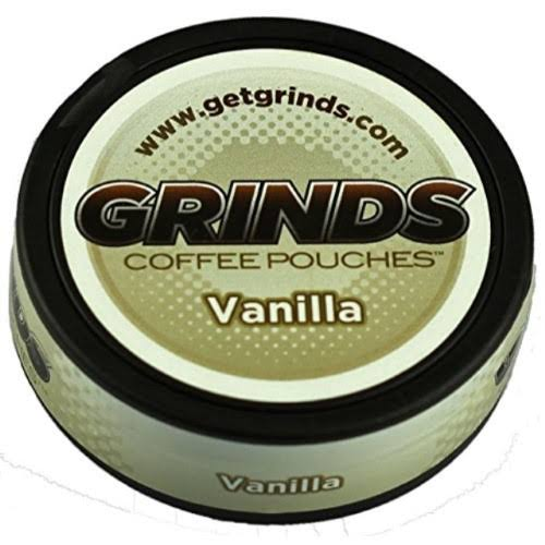 Grinds Coffee Pouches - Vanilla
