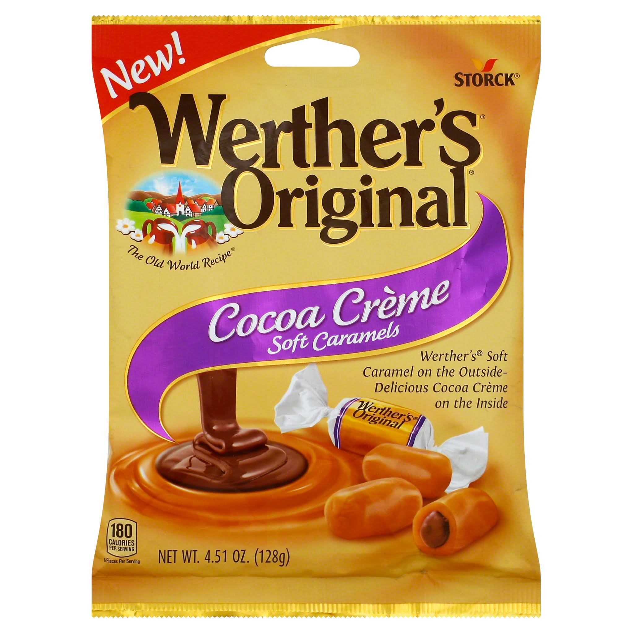 Werther's Original Cocoa Creme Soft Caramels - 5oz
