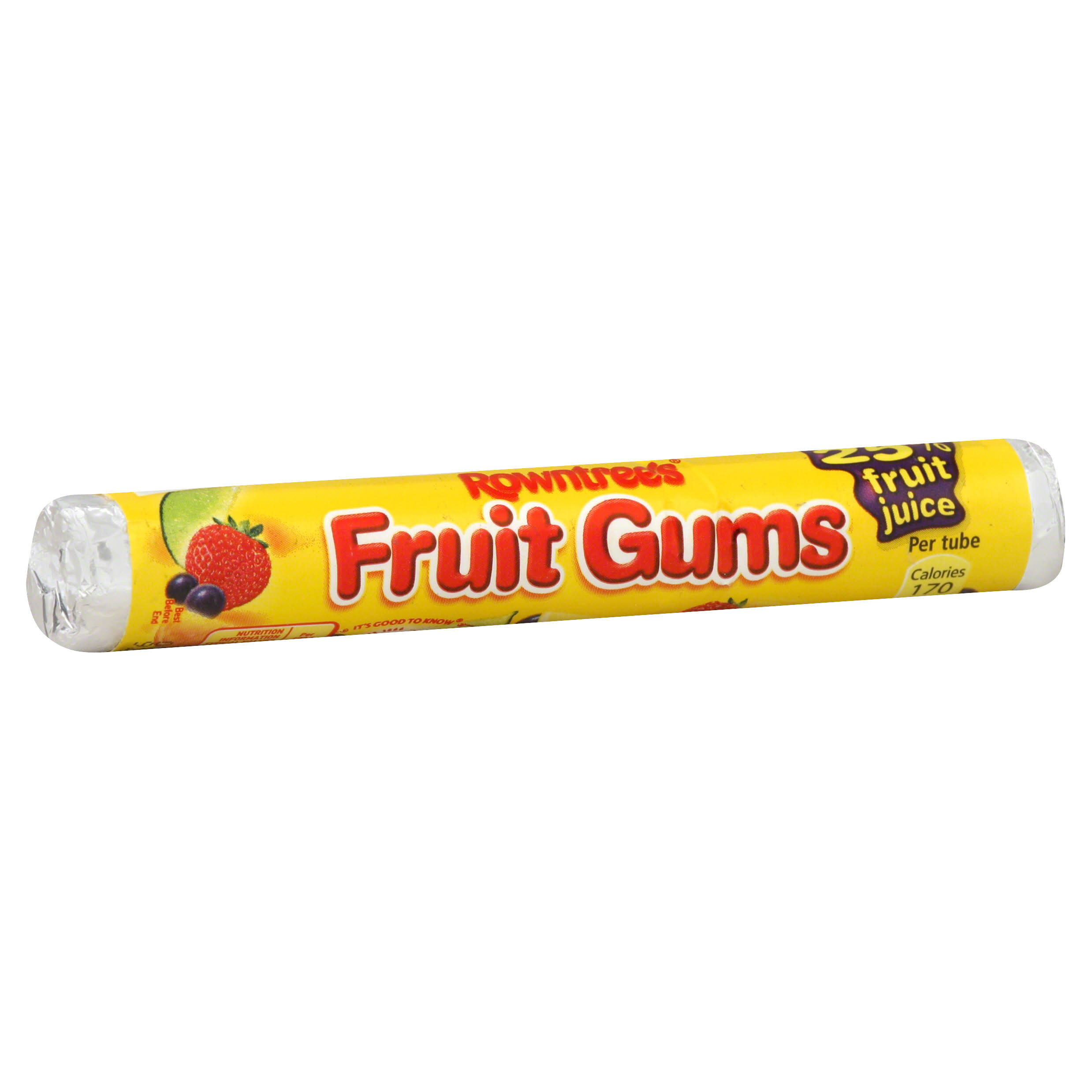 Rowntree's Fruit Gum Roll - 1.6oz, 18pk