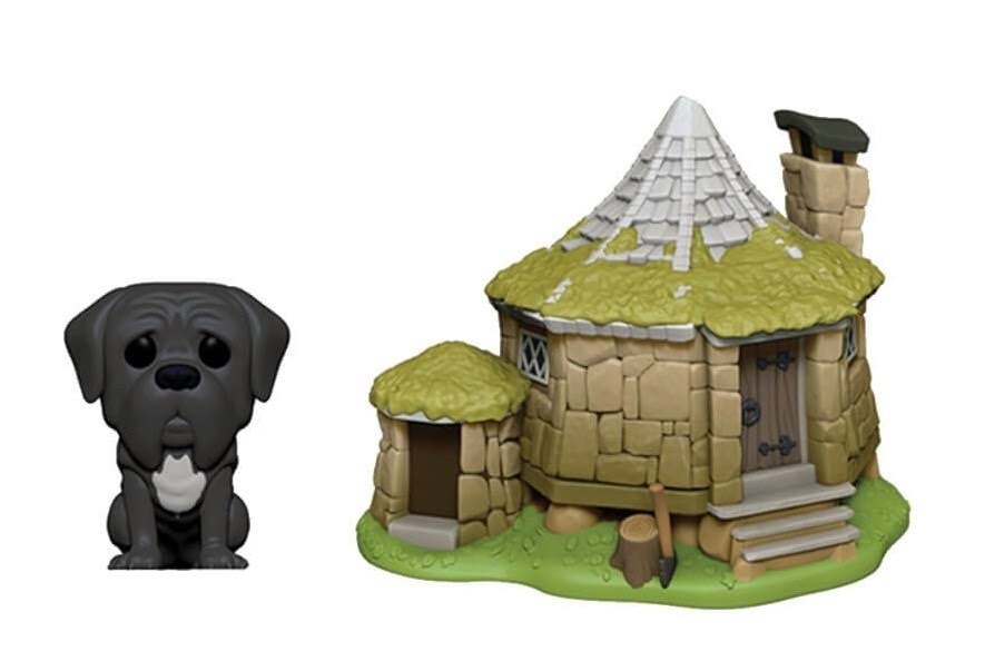 Funko Pop Town Harry Potter Hagrids Hut Vinyl Figure - with Fang