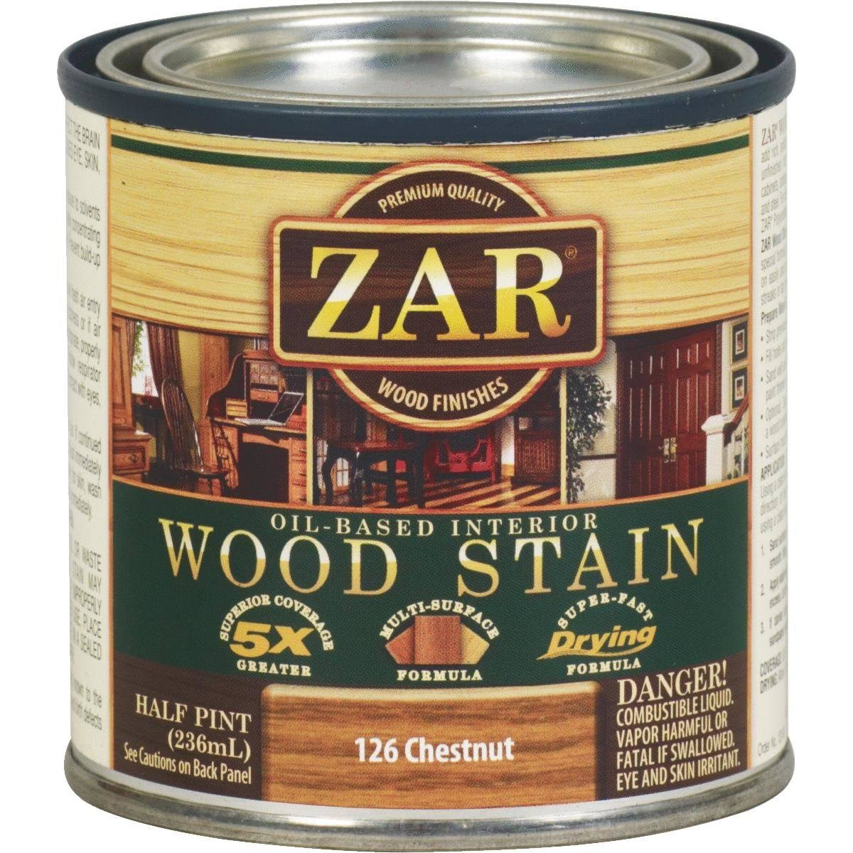 United Gilsonite Zar Oil Based Wood Stain - 126 Chestnut