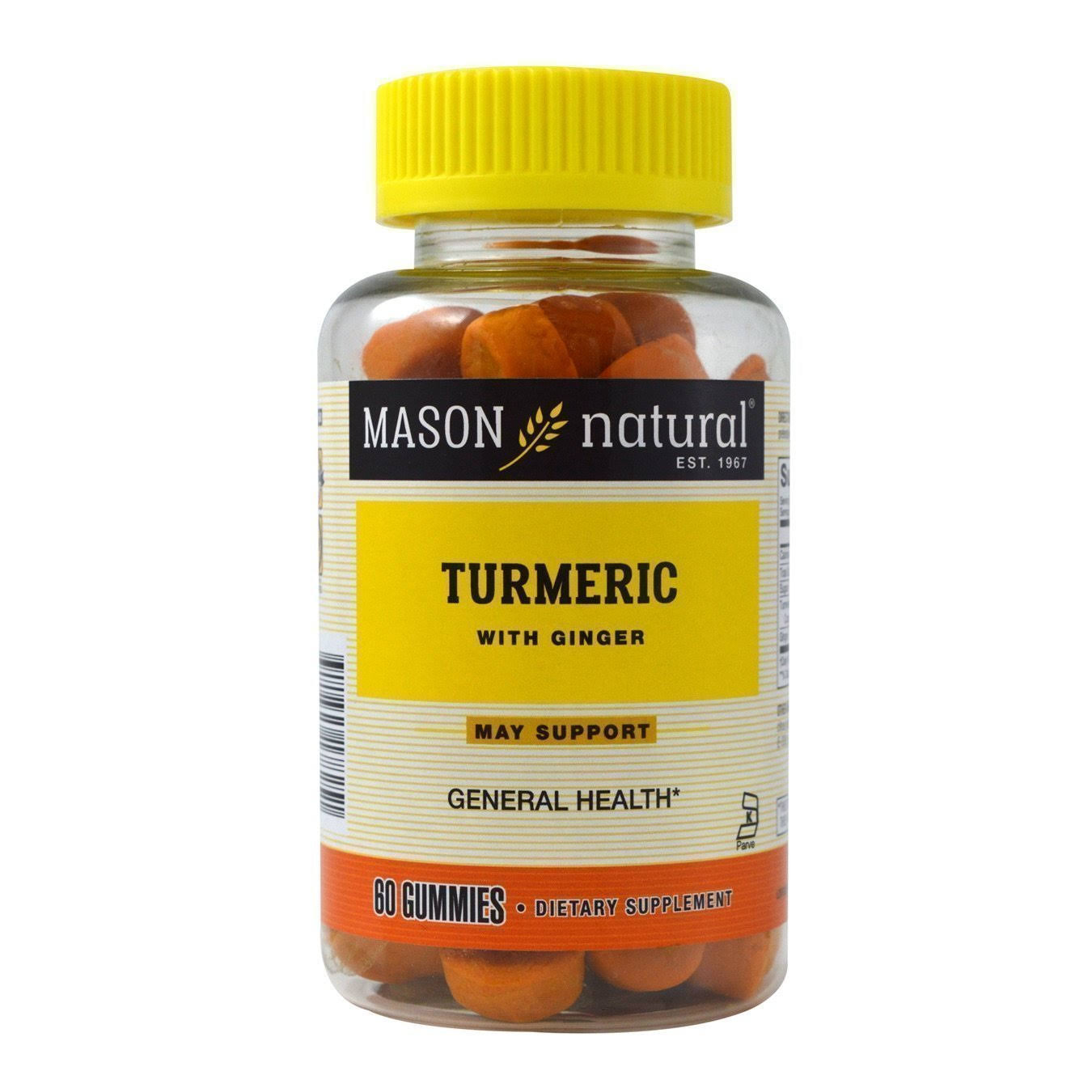 Mason Natural - Turmeric with Ginger - 60 Gummies