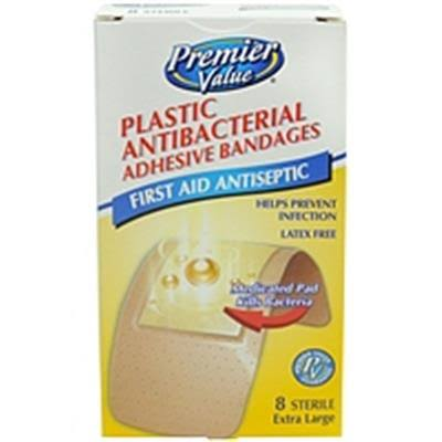 Premier Value Antibac Bandage XL - 8ct V197098