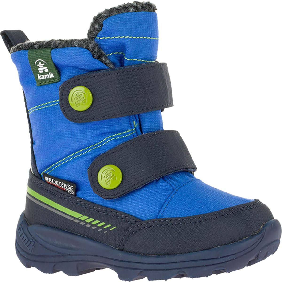 Kamik Kids' Pep Snow Boot, Size: 6 Toddler, Blue