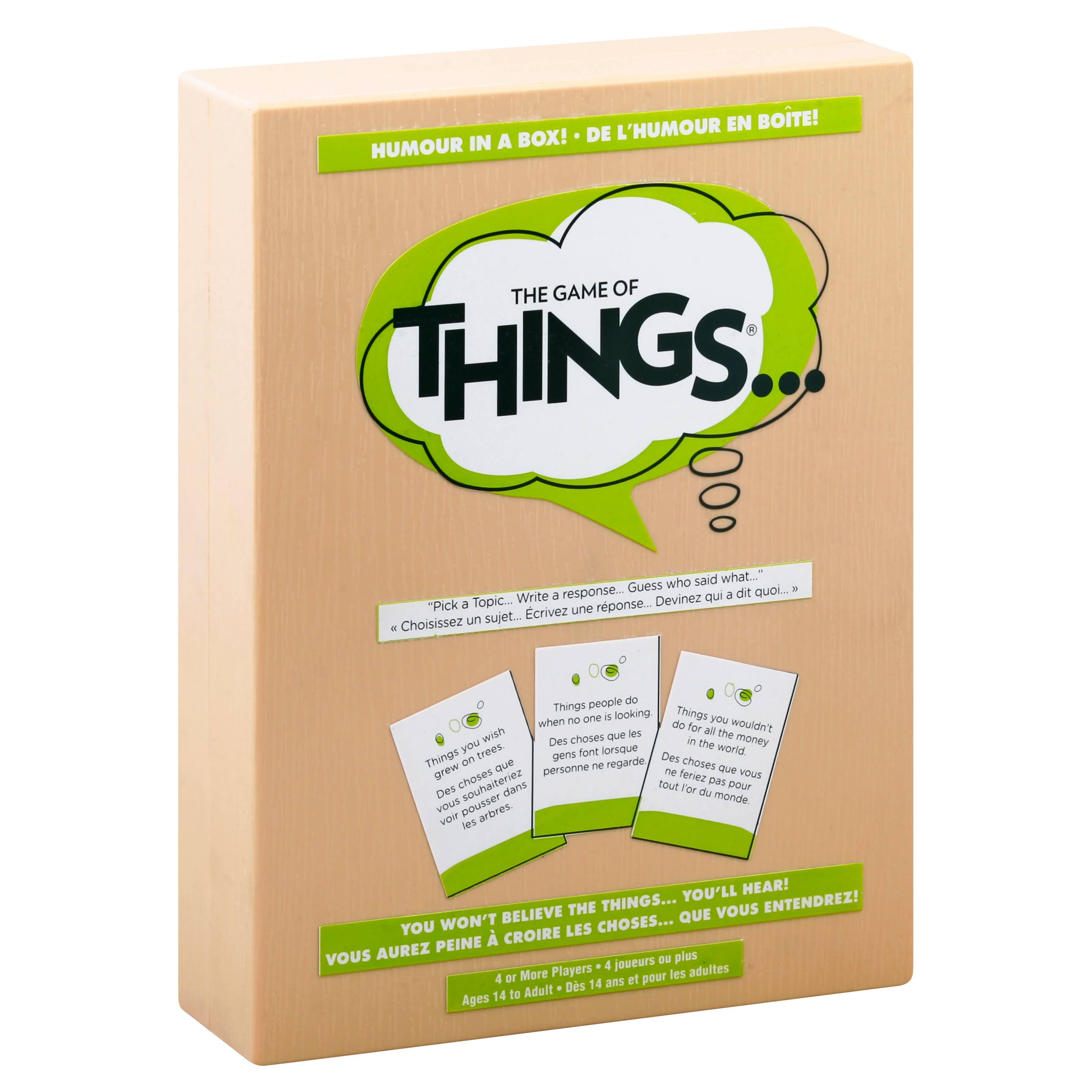 Play Monster The Game of Things Card Game