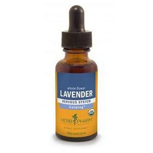 Herb Pharm Certified Organic Lavender Flower Extract - 29.6ml