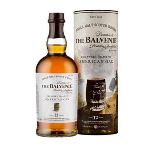 Balvenie 12 Year The Sweet Toast of American Oak Single Malt Scotch 750ml