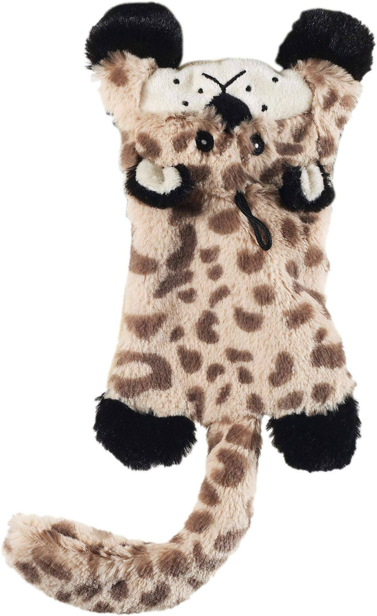 Ethical Skinneeez Flat Cats Stuffingless Dog Toy