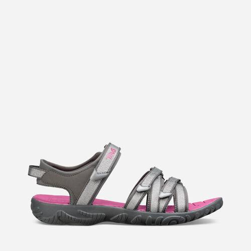 Teva Girls Tirra Sandals - Silver/Magenta, 1