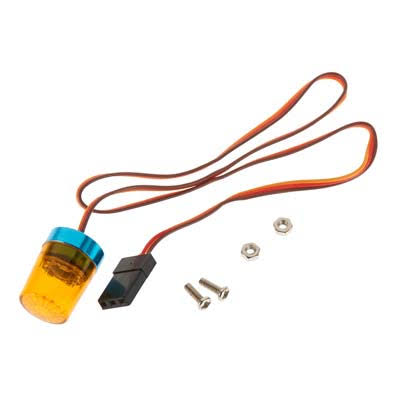 Integy INTC26880YELLOW Roof Top Flashing Light LED 13mm Yellow