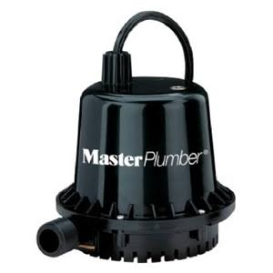 Pentair Water Master Plumber Geyser Jr Thermoplastic Submersible Utility Pump