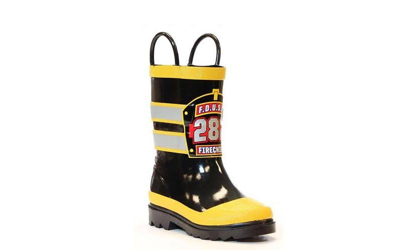 Western Chief F.d.u.s.a. Waterproof Rain Boots - Black, Size 7