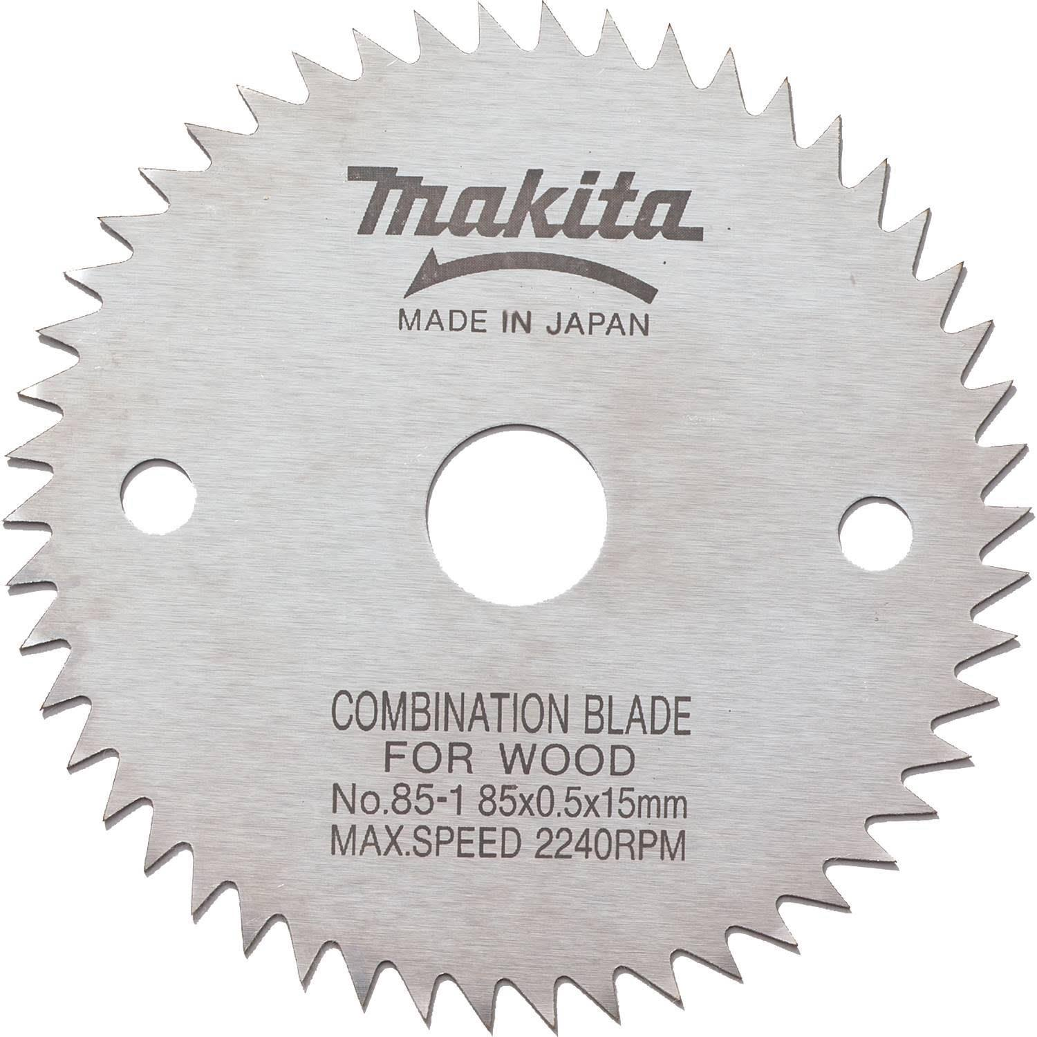 Makita 792259-0 Circular Saw Blade - 85mm x 15mm, 50T