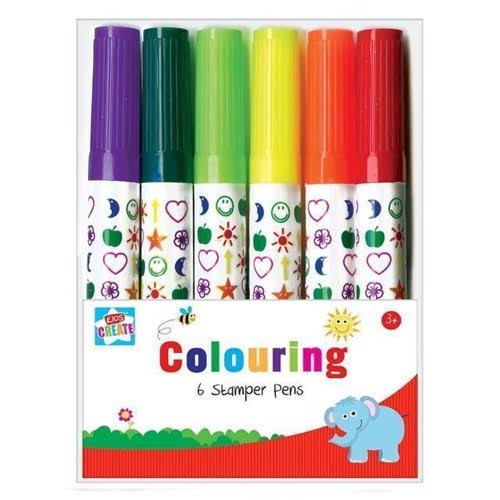 Stamper Pens Activity Pack - 8 Assorted Colours
