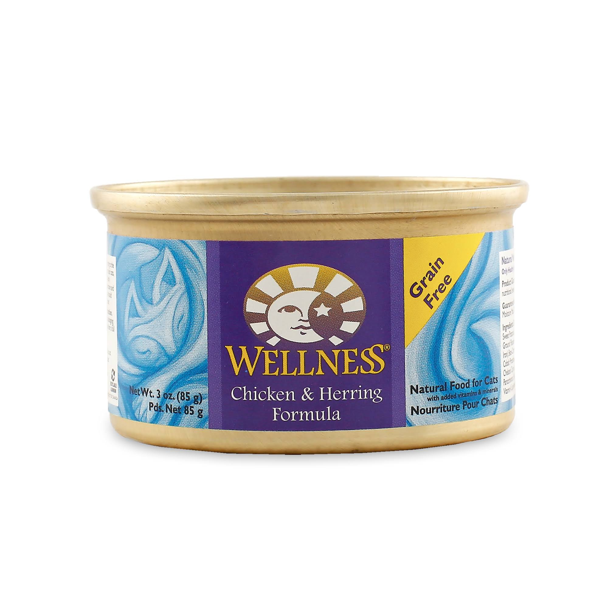 Wellness Chicken & Herring Formula Cat Food