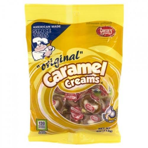 Goetze Caramel Creams - Original, 4oz