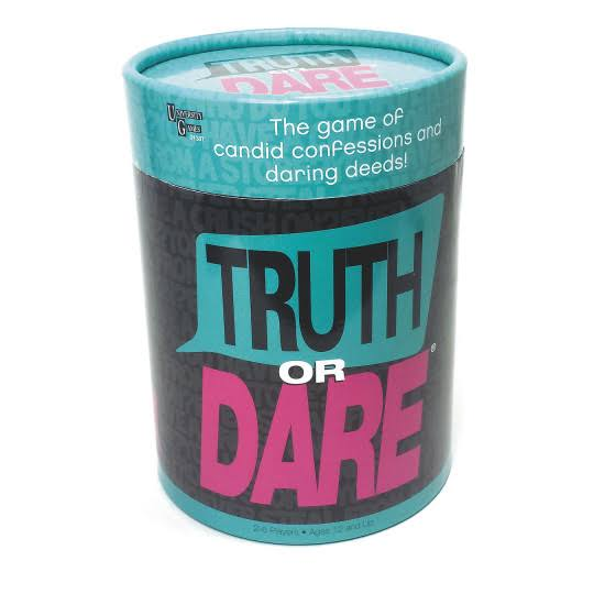 University Games Truth or Dare Challenge Card Game