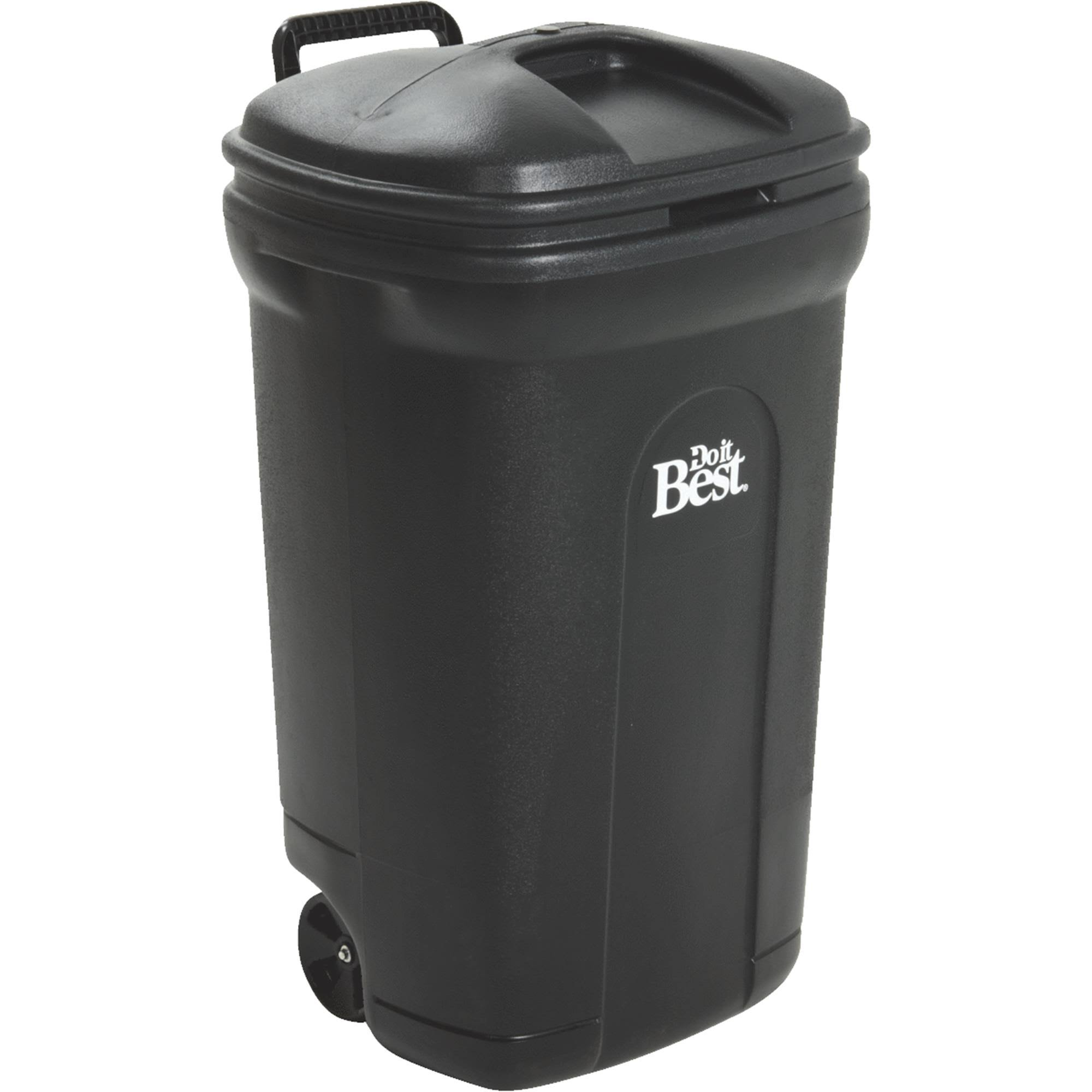 United Solutions Do It Best Wheeled Trash Can 601767