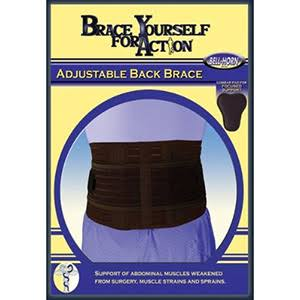 Bell-Horn Adjustable Back Support Brace - One Size Fits Most