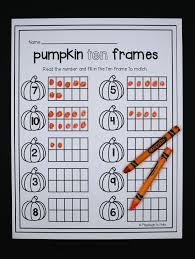 Spookley The Square Pumpkin Preschool Activities by Pumpkin Activity Packet Playdough To Plato