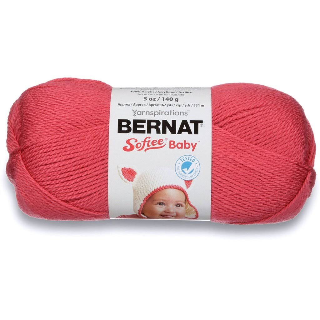 Bernat Softee Baby Yarn - Soft Red