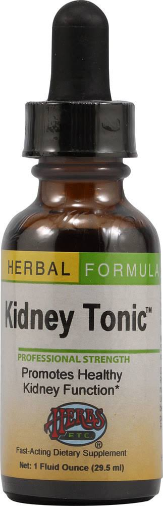 Herbs Etc - Kidney Tonic 1 oz