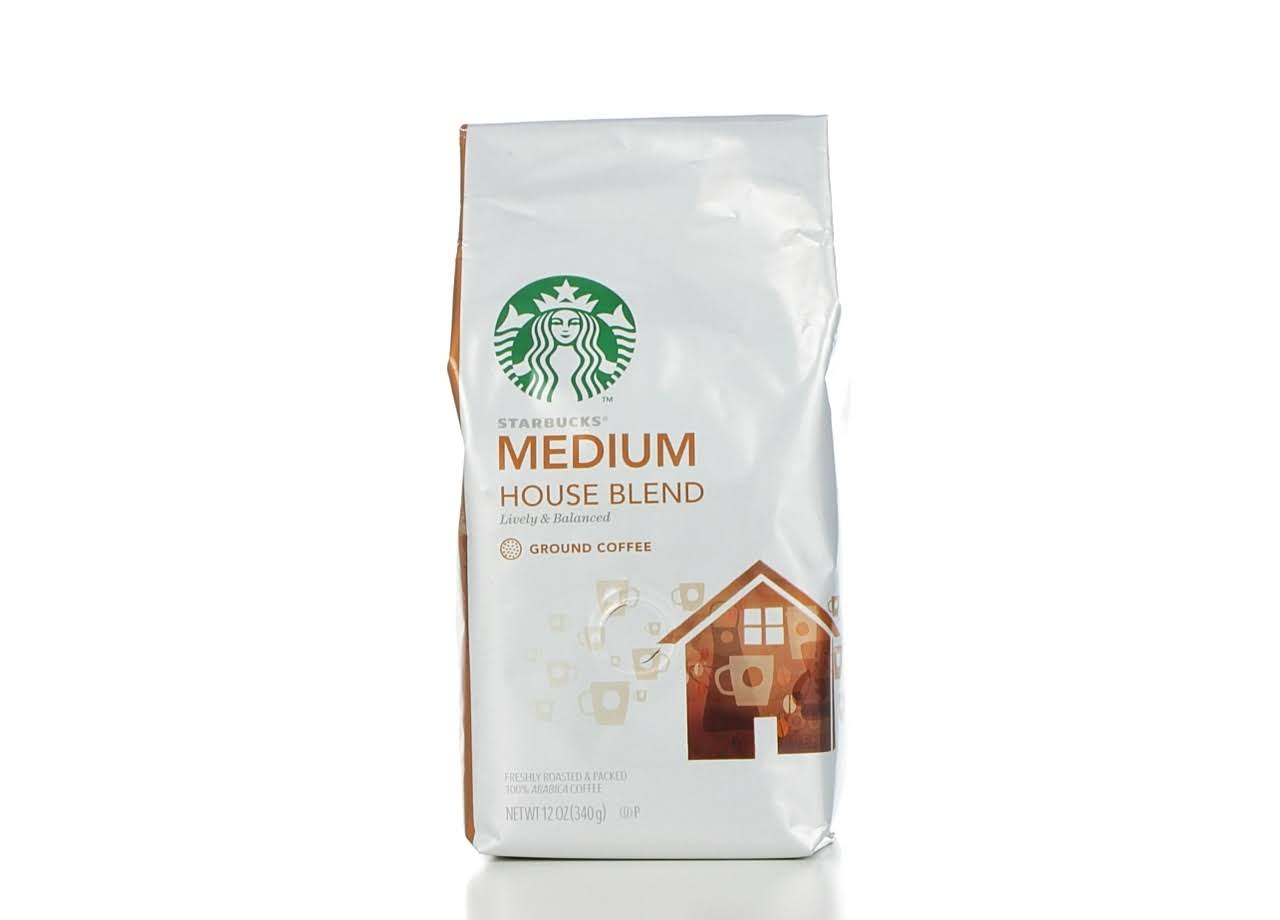 Starbucks Ground Coffee - 12oz, Medium House Blend