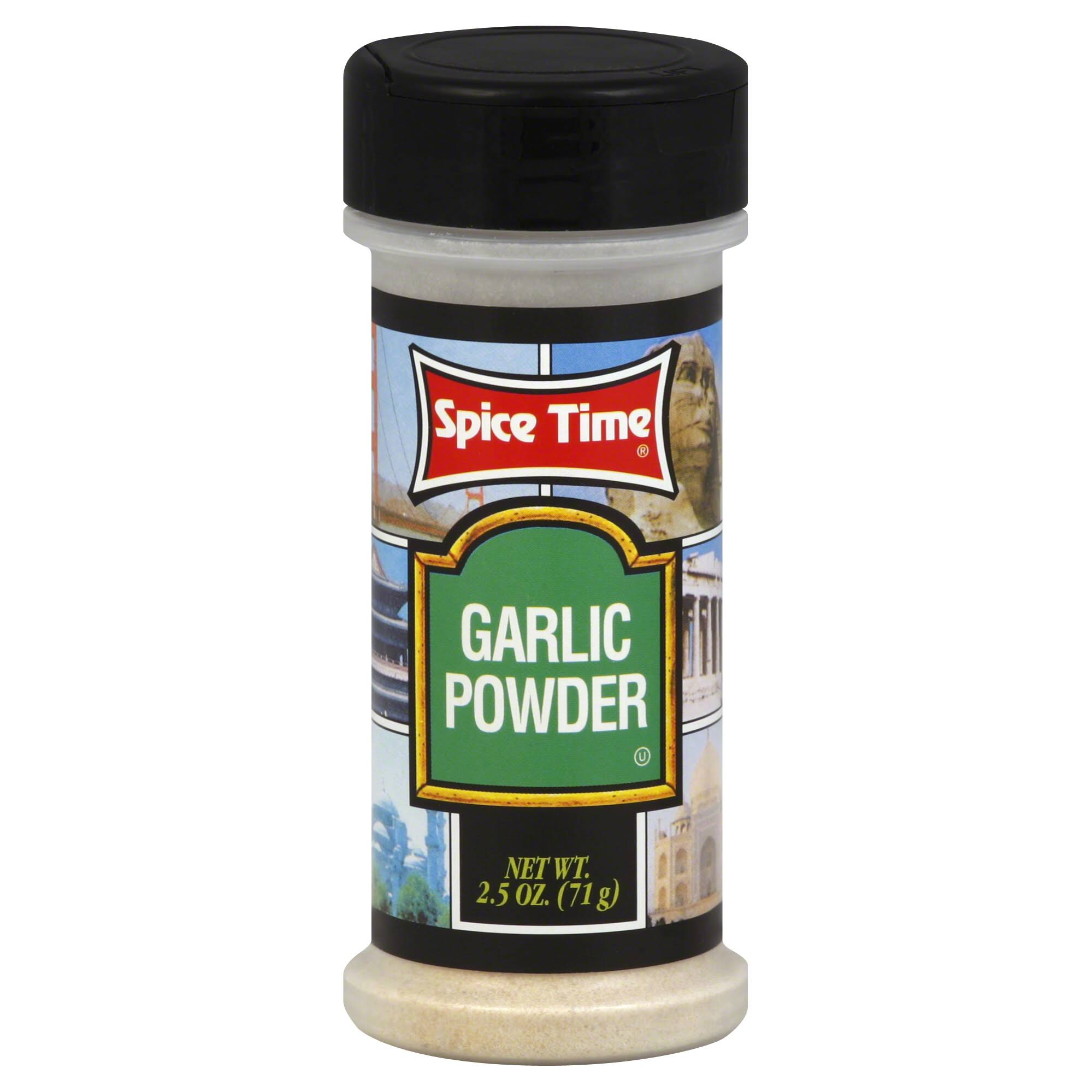Spice Time Garlic Powder - 2.5 oz
