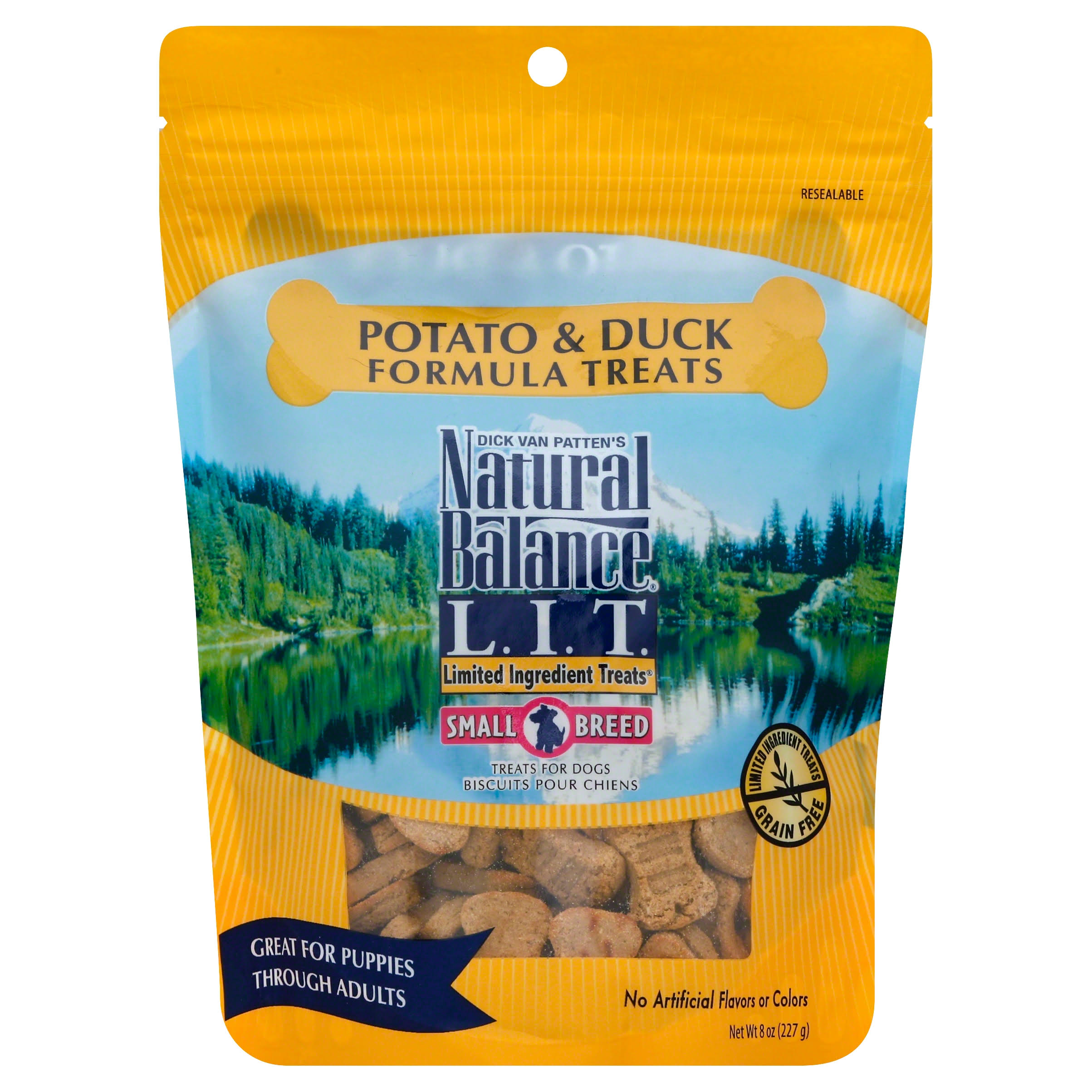 Natural Balance Limited Ingredient Dog Treats - Potato and Duck, 227g