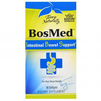 Terry Naturally BosMed™ Intestinal Bowel Support - 60 Softgels