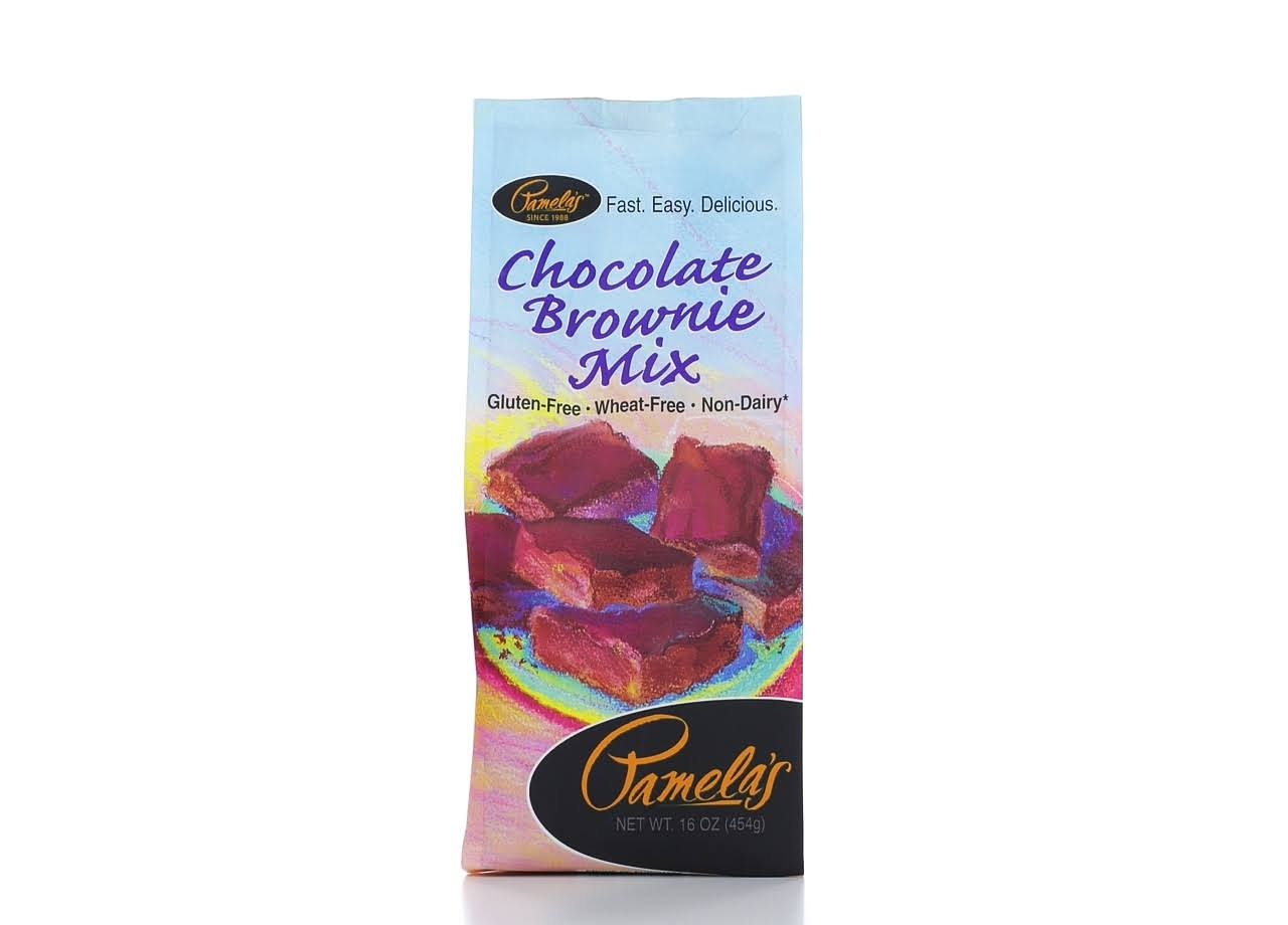 Pamelas Chocolate Brownie Mix, 16 Oz Pack Of 6