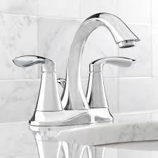 Moen Hands Free Lavatory Faucet by Moen 6410 Eva Chrome Two Handle Centerset Bathroom Faucets