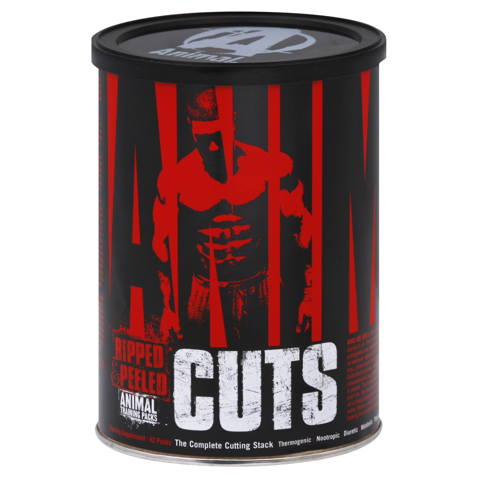 Universal Nutrition Animal Cuts, Ripped and Peeled Animal Training Packs