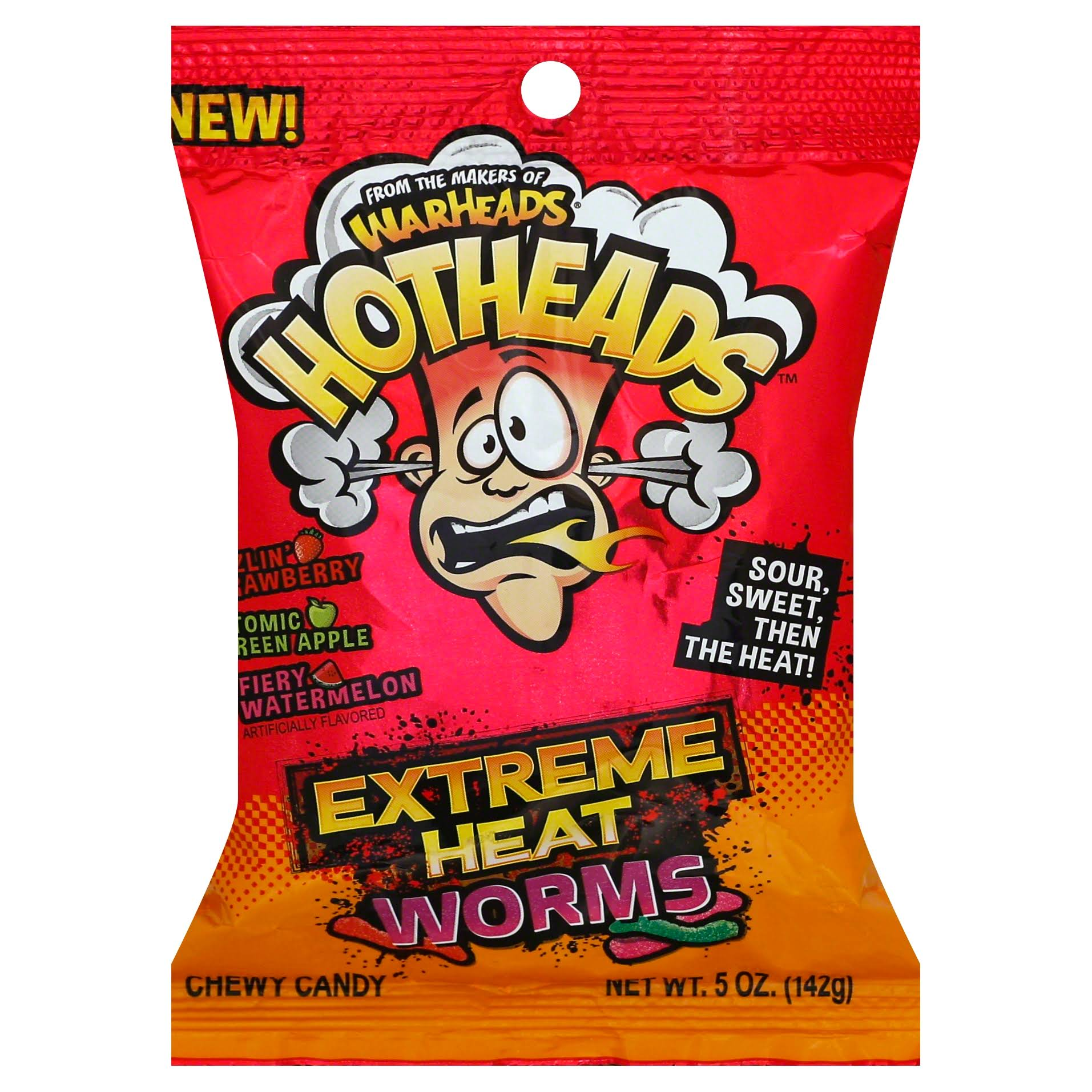 Warheads Extreme Heat Worms