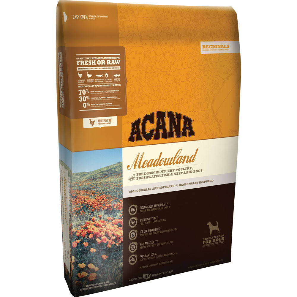 ACANA Regionals Meadowland Dry Dog Food, 25 lbs
