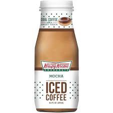 Krispy Kreme Halloween Donuts Calories by Krispy Kreme Mocha Ready To Drink Iced Coffee 9 5 Fl Oz Walmart Com