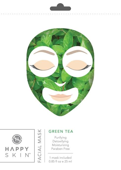 Happy Skin - Green Tea Facial Mask