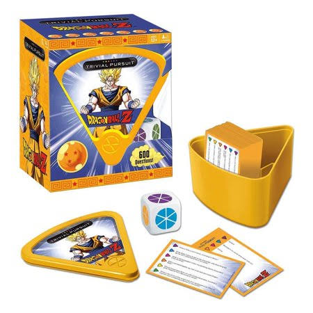 USAopoly Trivial Pursuit Dragon Ball Z Quick Play Trivia Game