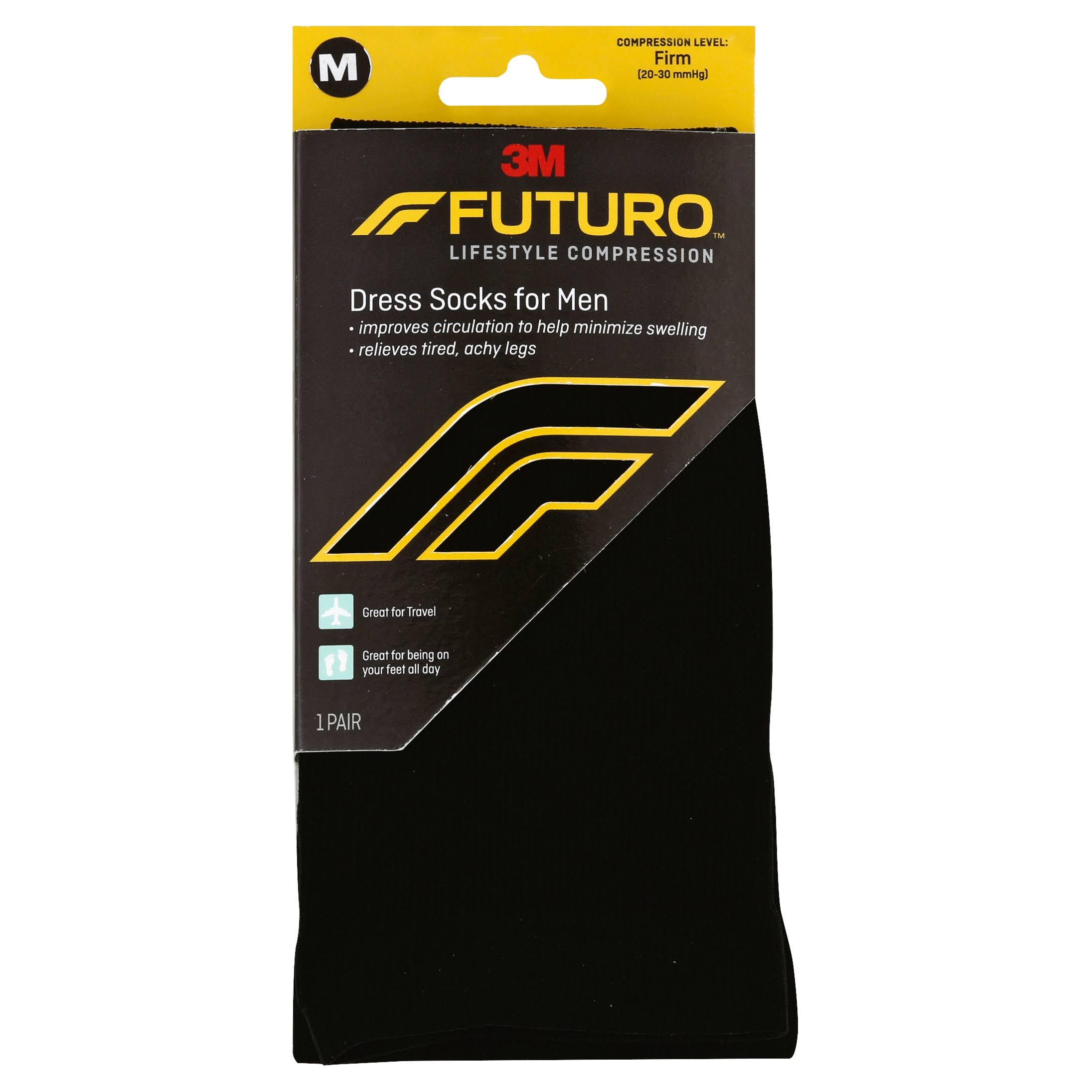 Futuro Socks, Dress, For Men, M