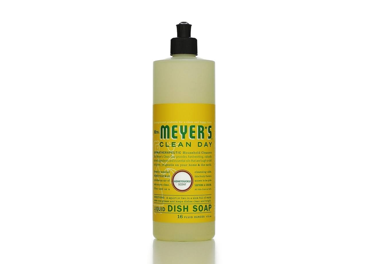 Mrs. Meyer's Clean Day Liquid Dish Soap - Honeysuckle