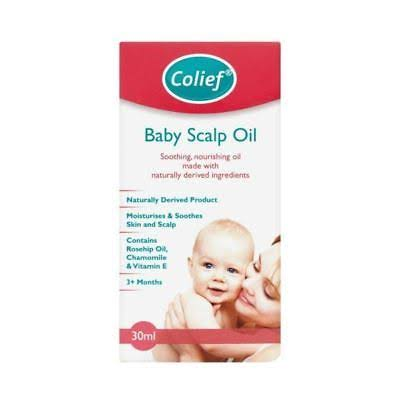 Colief Baby Scalp Oil - 2Plus Months, 30ml