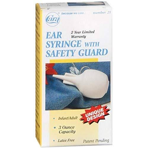 Cara Ear Syringe with Safety Guard