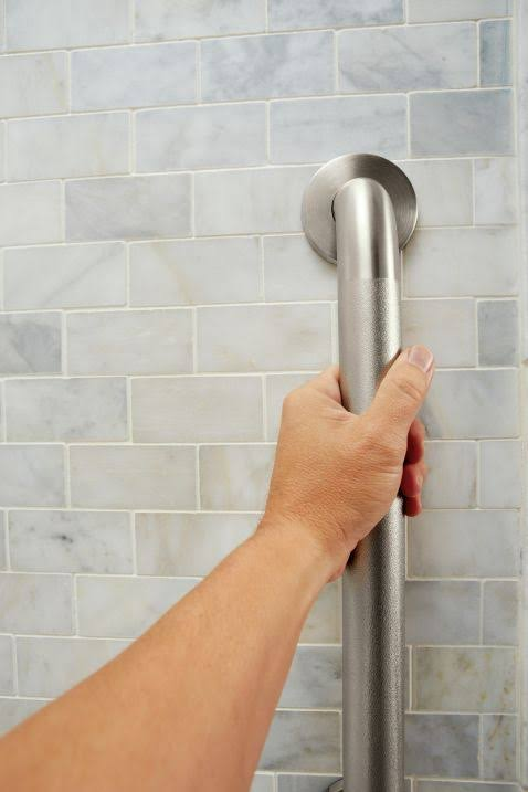 Moen LR8924P Home Care Grab Bar - Peened, 24""