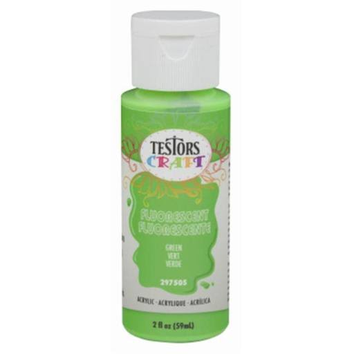 Testors Craft Acrylic Paint - Green, 2oz