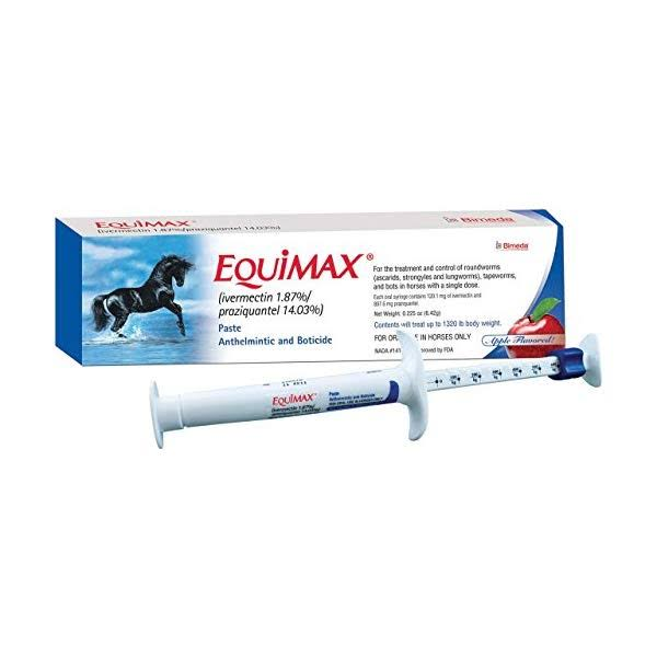 Equimax Dewormer Paste For Horses - 6.42gm