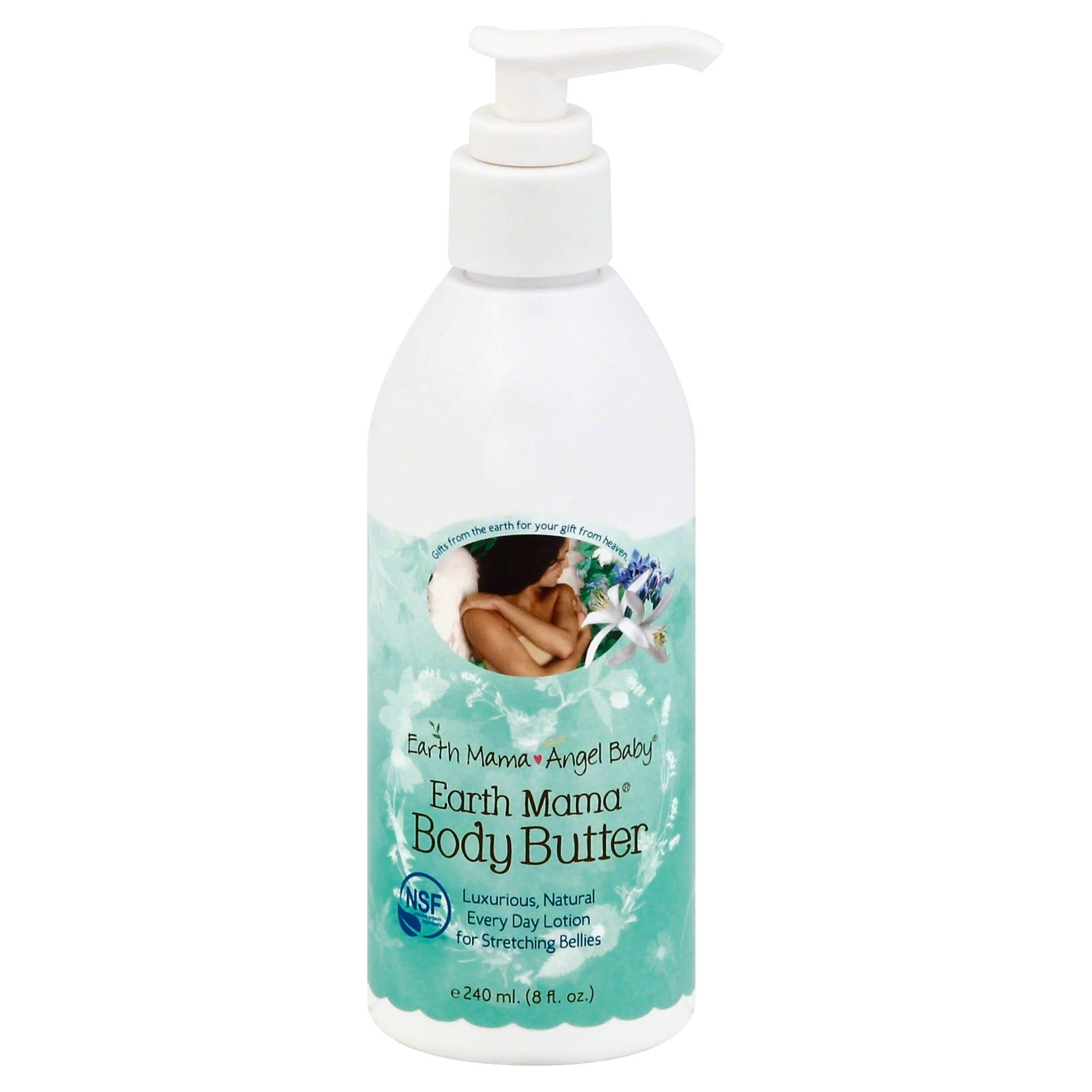 Earth Mama Angel Baby Body Butter Lotion - 8oz