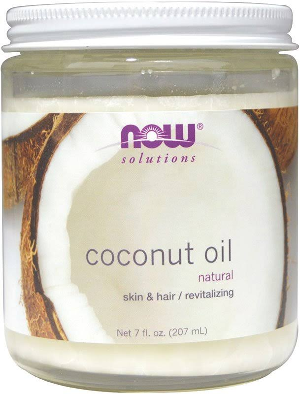 Now Foods Coconut Oil - 207ml