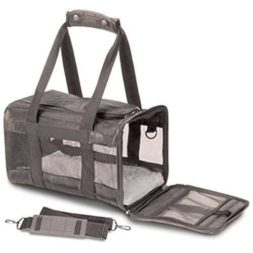 Sherpa Original Deluxe Pet Carrier Small Gray