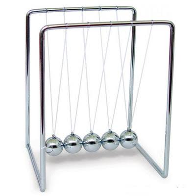 Westminster Newton's Cradle - Medium
